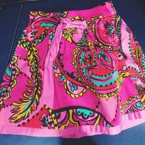 Lilly Pulitzer Multicolored Patterned Skirt